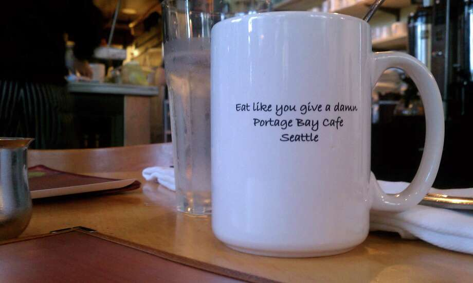 """BEST OVERALL BREAKFAST: The Portage Bay Cafe, where they say you should """"eat like you give a damn."""" It's easier to give a damn when you're staring at one of the city's most decadent breakfasts -- and a fruit bar. More at portagebaycafe.com."""