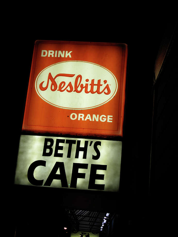 BEST HANGOVER BREAKFAST: Beth's Cafe on Highway 99 is Seattle's quintessential greasy spoon, featuring the Everest of omelets. (Think you can eat 12 eggs?) Beth's is open all night, so you don't have to wait for the next morning to start your hangover remedy. More at BethsCafe.com. Photo: Flickr/adamjackson1984