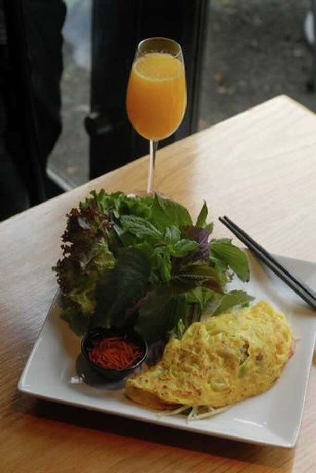 BEST NONTRADITIONAL BREAKFAST: Monsoon Restaurant on Capitol Hill and Bellevue reinvents brunch with a Vietnamese influence. Dim sum, anyone? More at monsoonrestaurants.com. Photo: STEVE SHELTON
