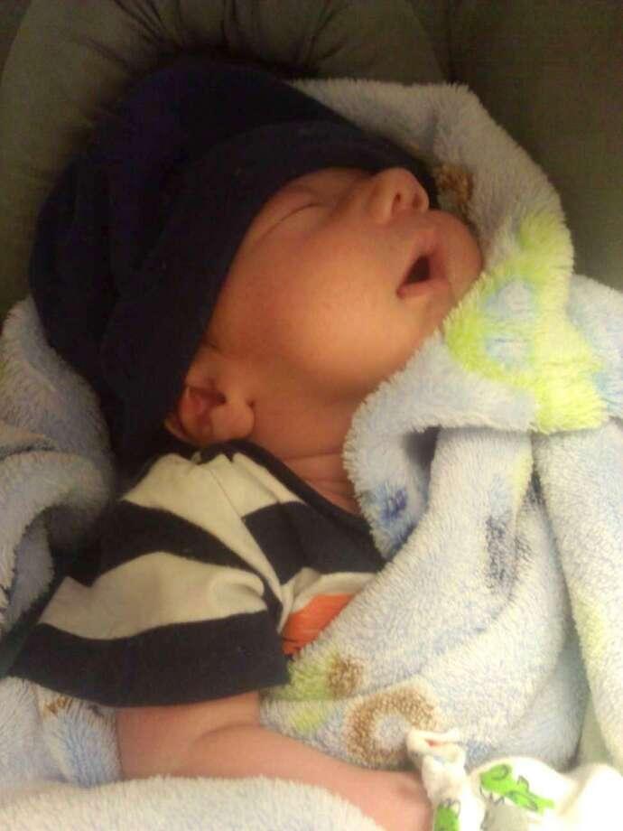 Julian sleeping