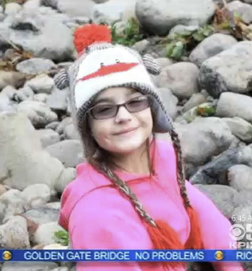 Eight-year-old Leila Fowler was stabbed to death on Saturday at the home in Valley Springs. Photo: CBS San Francisco