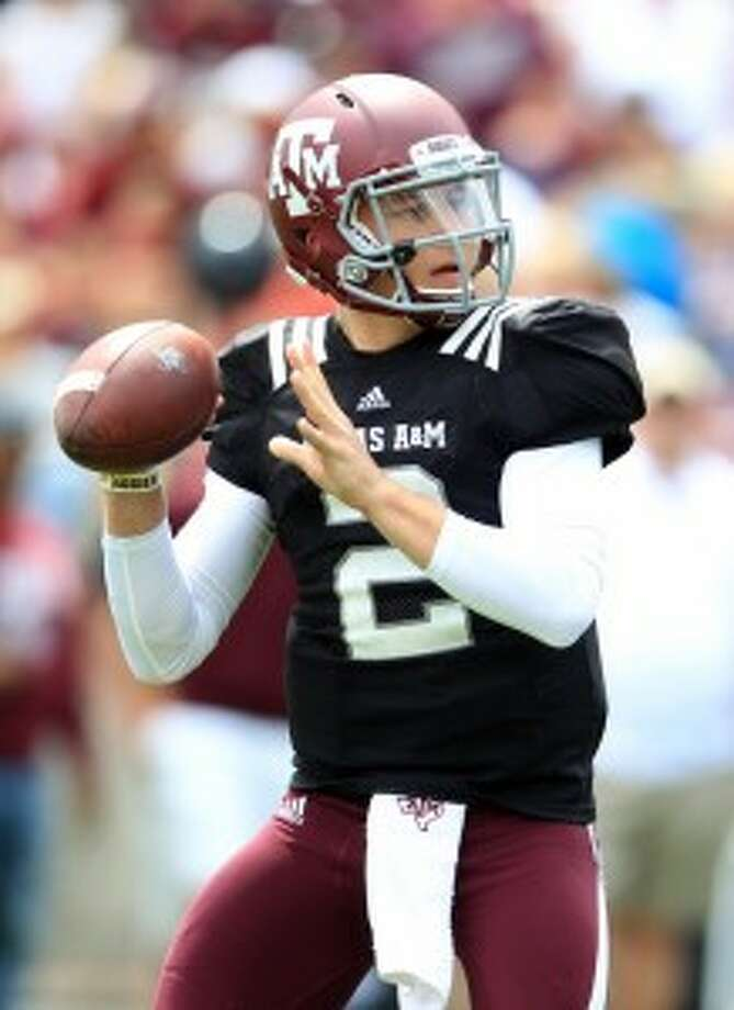 Johnny Manziel played a main role in bringing the Aggies to the forefront of college football. (Karen Warren/Chronicle)
