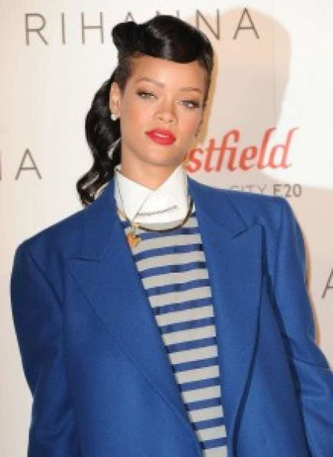 The fully dressed Rihanna.