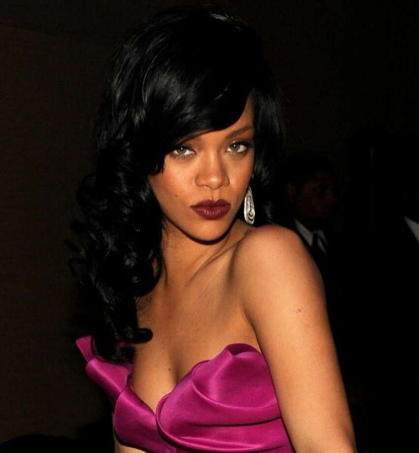 The pouty Rihanna.