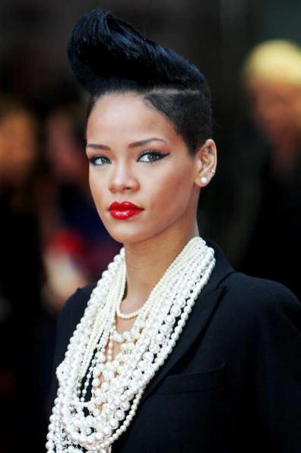 The bouffant Rihanna.