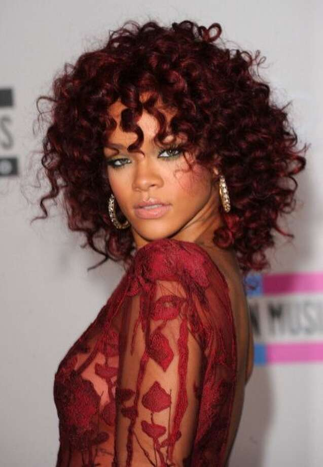The all red Rihanna.
