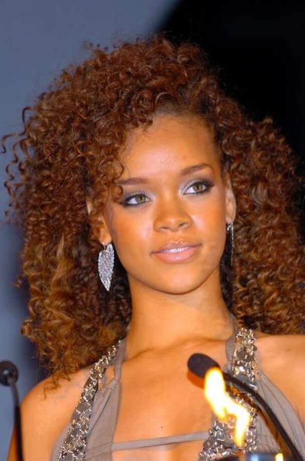 The curly-haired Rihanna.
