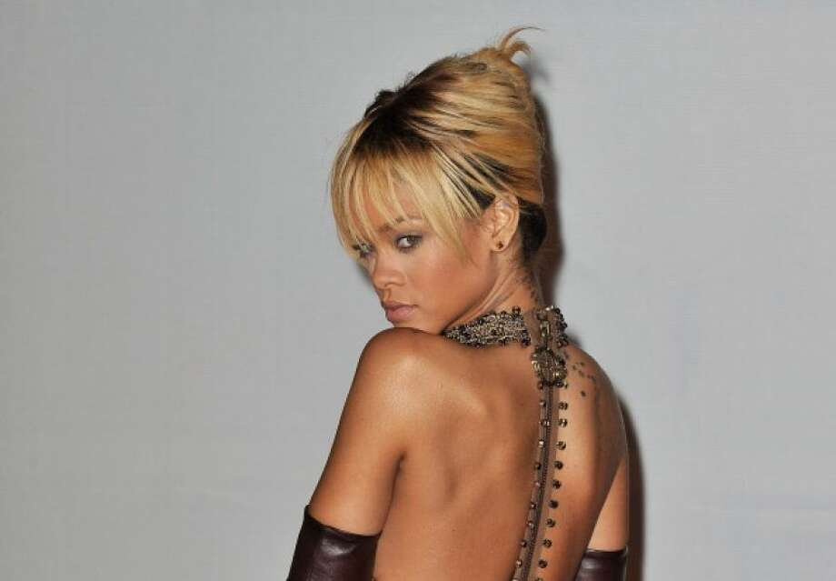 The sultry Rihanna.