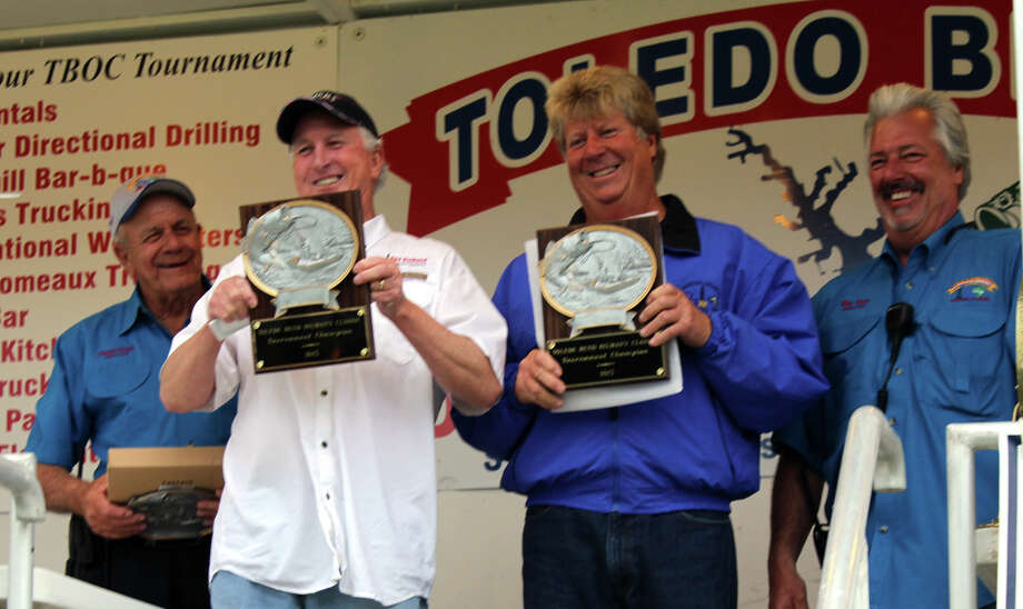 The Madole brothers combined weight of 40.60lbs earned them the top spot in the tournament  Photo by Paul Hayes