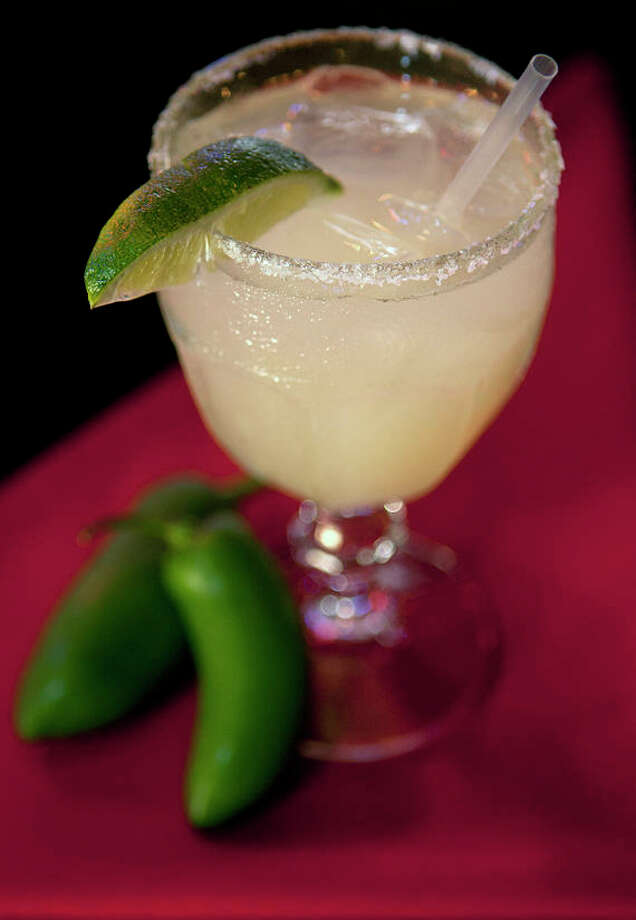 A Jalapeno Lime Margarita at Cadillac Bar. Photo: Cody Duty, Houston Chronicle / Houston Chronicle