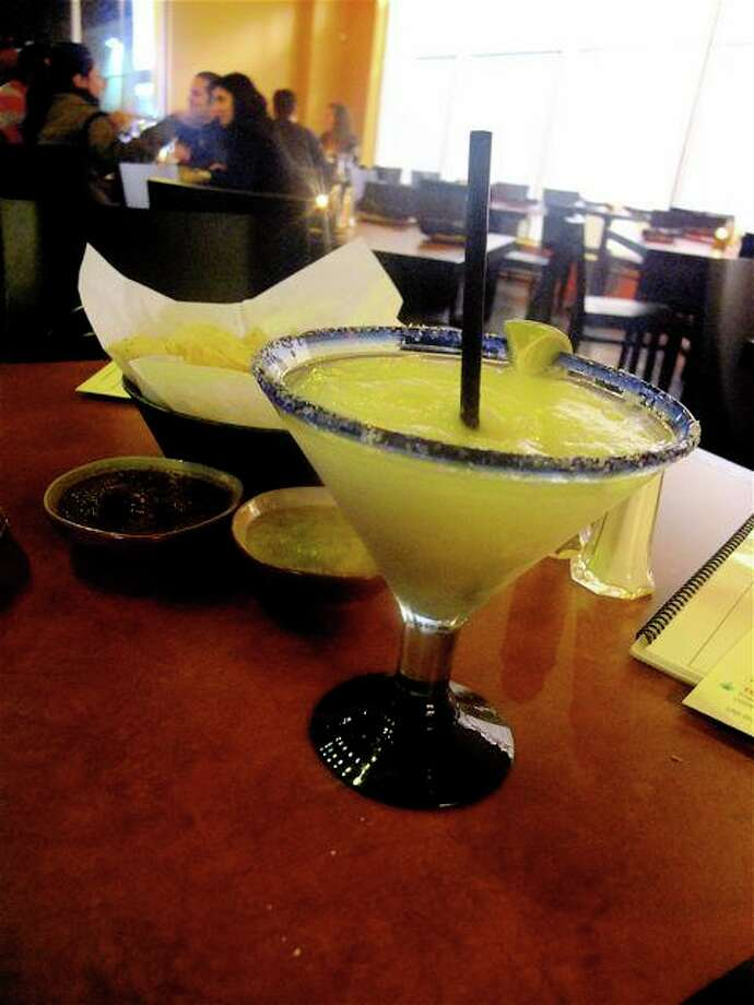 The house frozen Margarita at TQLA on Washington. Photo: Alison Cook, Houston Chronicle / Houston Chronicle