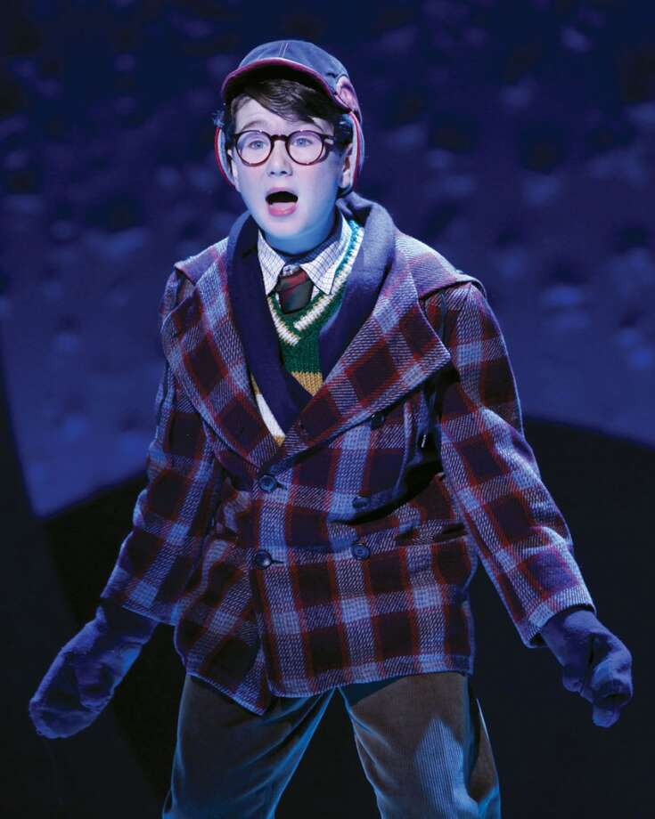 "Clarke Hallum in ""A Christmas Story, The Musical!"""