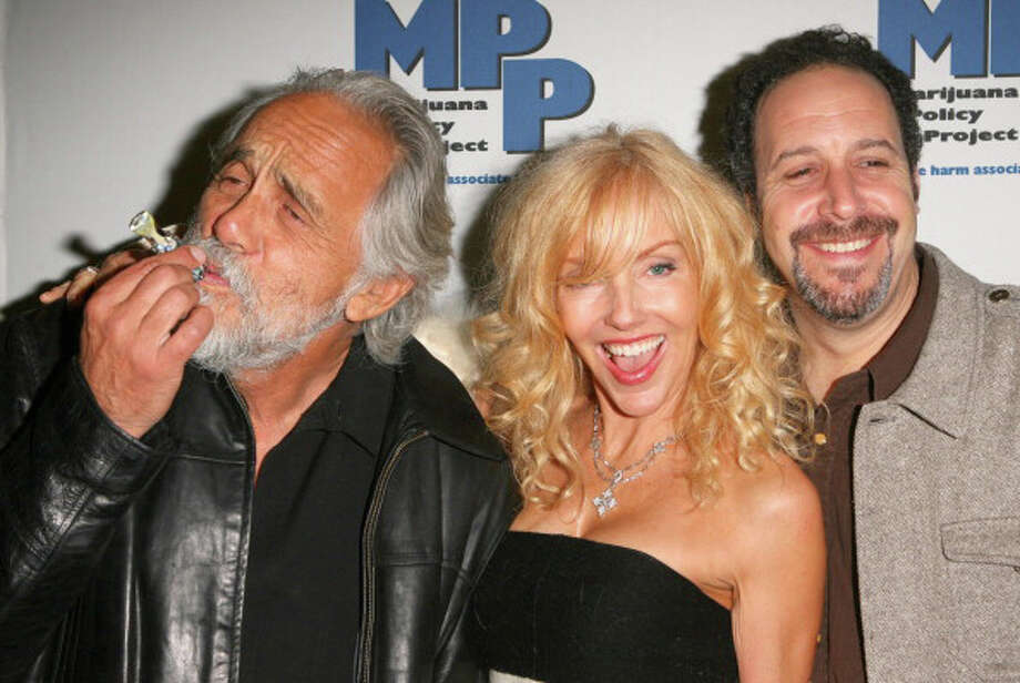 Bo-Bo  Tommy Chong, Shelby Chong and Josh Gilbert during Marijuana Policy Project Celebrity Fundraiser. Photo: Jesse Grant, WireImage / WireImage
