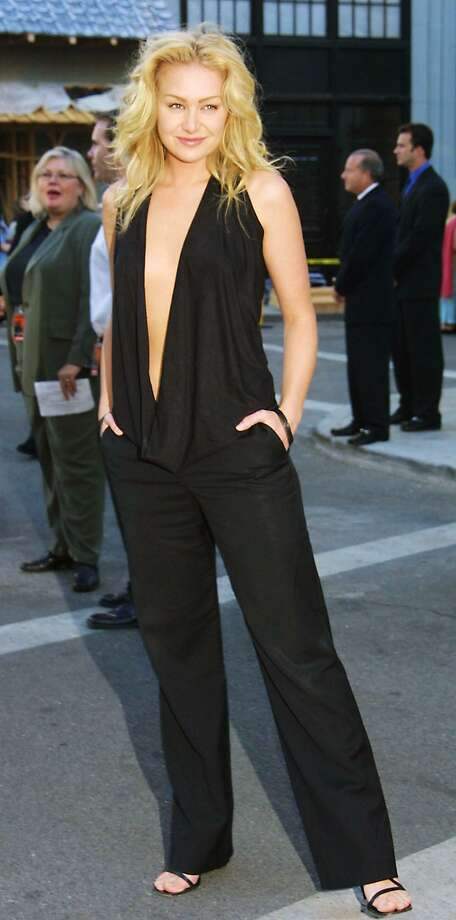 Portia de Rossi, aka Lindsay Bluth Fünke, pictured in 2002. Photo: LEE CELANO, Getty Images / AFP