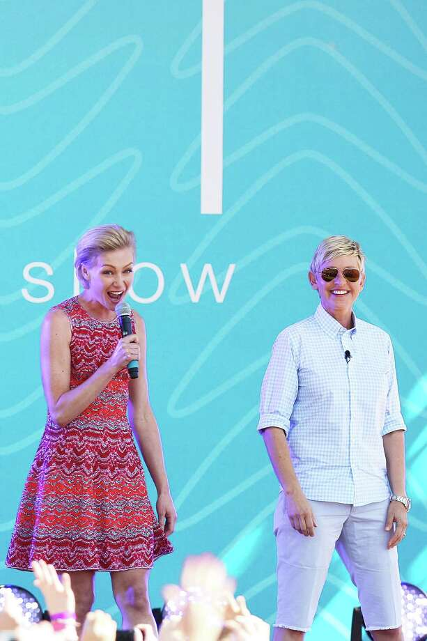 Portia de Rossi, pictured in 2013 with wife Ellen DeGeneres. Photo: Graham Denholm, Getty Images / 2013 Graham Denholm