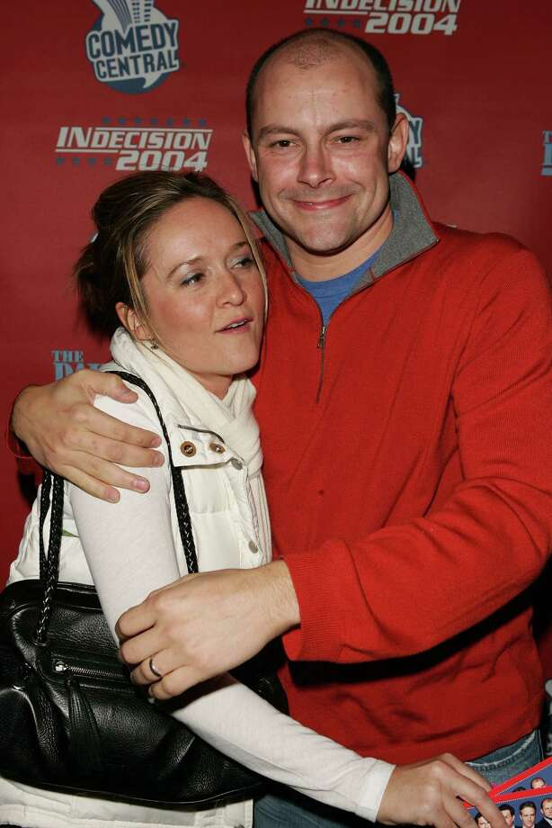 Rob Corddry, aka Moses Taylor, pictured in 2004 with Samantha Bee. Photo: Peter Kramer, Getty Images / 2004 Getty Images