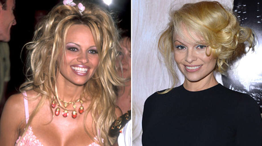 Pamela Anderson recently debuted a dramatically different look and told Buzzfeed that she\'s not sure if she \'\'ever really felt beautiful.\'\' Here\'s a look at Anderson through the years.