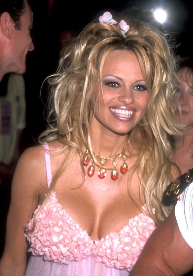 Pamela Anderson in 1999, which was a radical change from how she looked in ....
