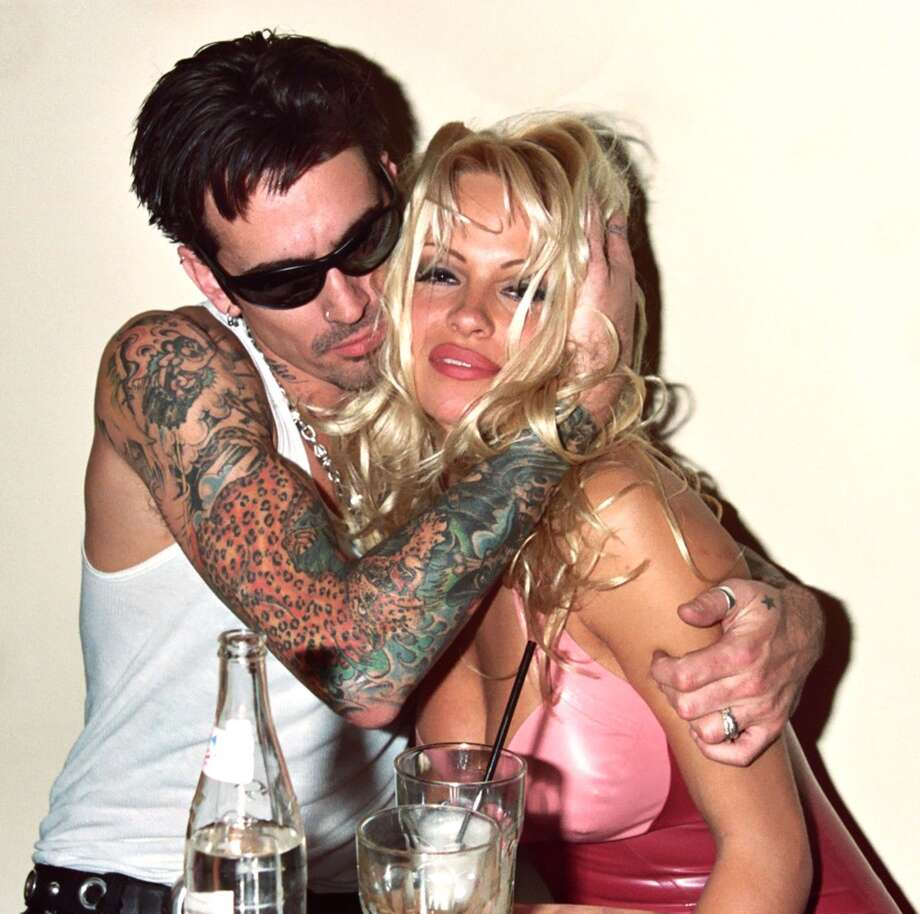 More man problems. Anderson had a long on-off-finally-divorced relationship with rocker Tommy Lee. They\'re pictured in 1995.