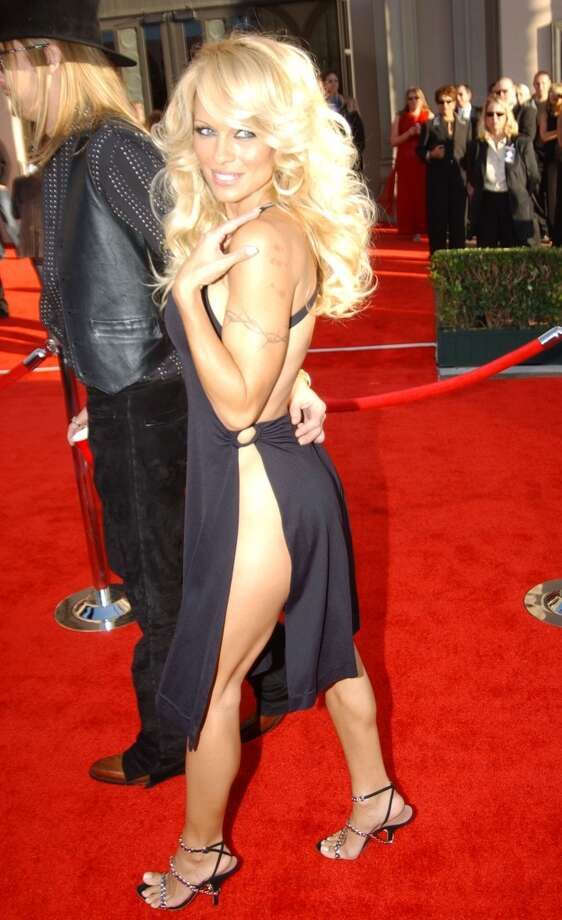 Or underwear. (Pamela Anderson, at the American Music Awards, 2003).