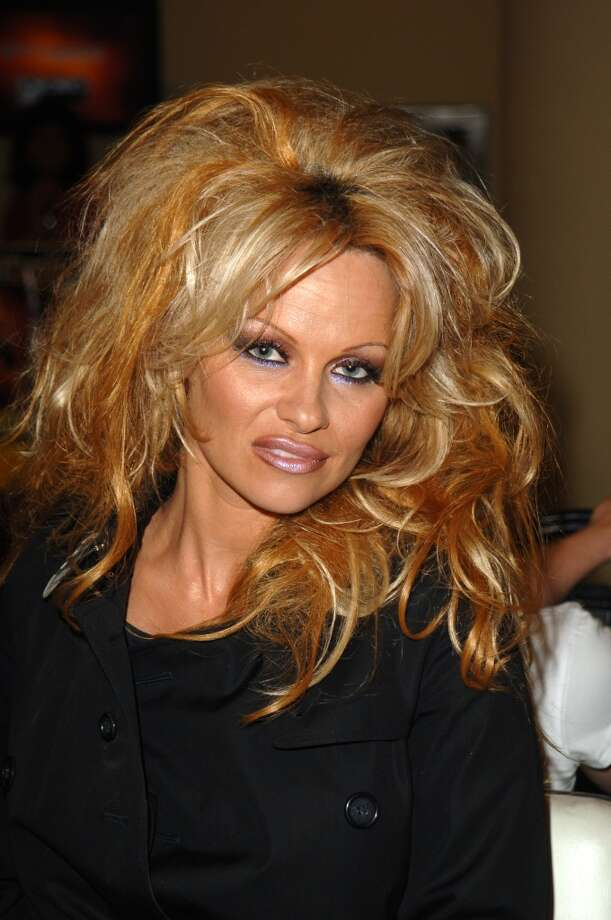 Or a brush. (Pamela Anderson, 2005).