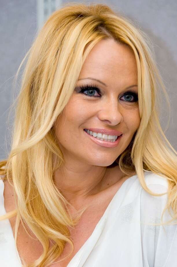 Anderson is photographed debuting  her perfume, \'\'Malibu by Pamela Anderson,\'\' at a Rite Aid in Pennsylvania in 2010.