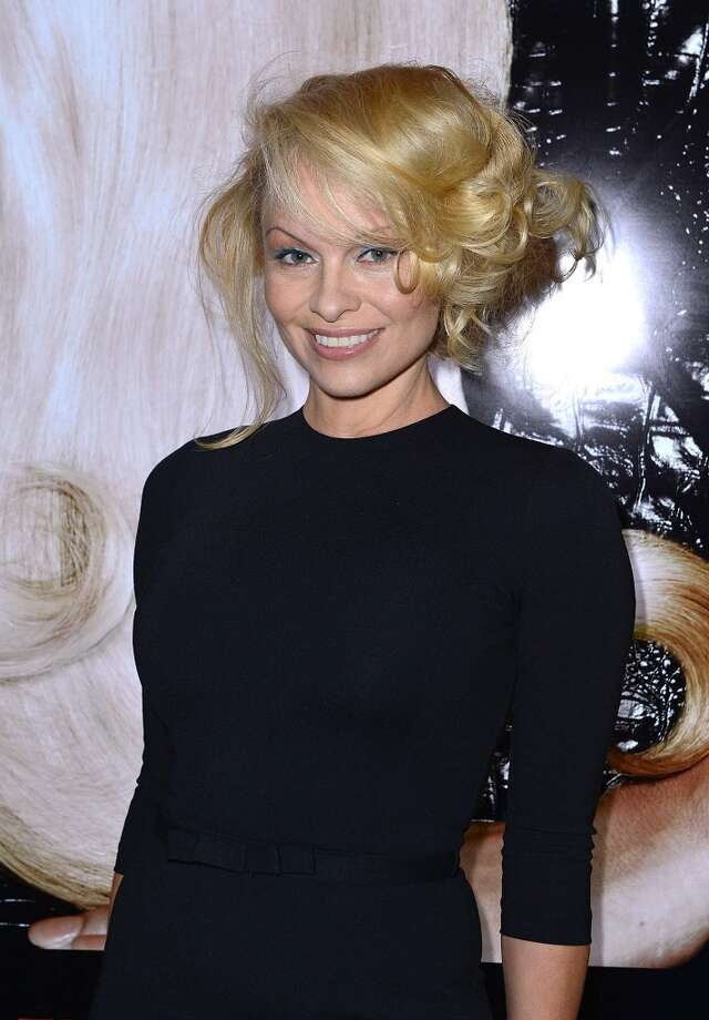 And here\'s Pamela Anderson in 2013.