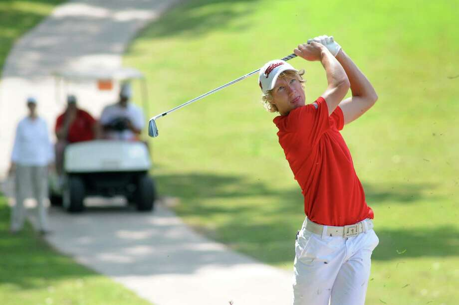 The Woodlands' Brad Able tied for second. Photo: Jerry Baker, Freelance
