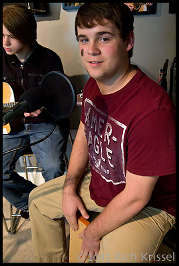 Josh Morris, drums & vocals, on the beatbox