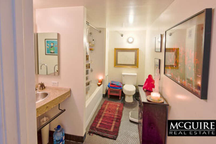 The bathroom is also situated on the top floor. / Winston Wang