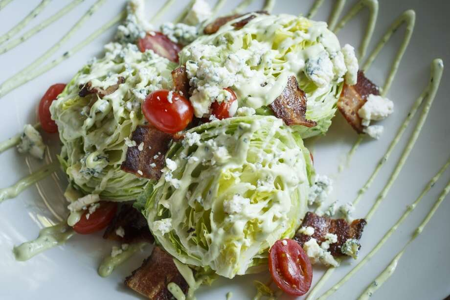 The Wedge Salad at La Casa del Caballo. Photo: Michael Paulsen, Houston Chronicle
