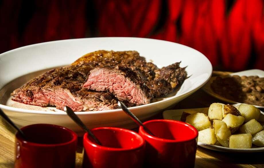 La Casa del Caballo's steak. Photo: Nick De La Torre, Chronicle