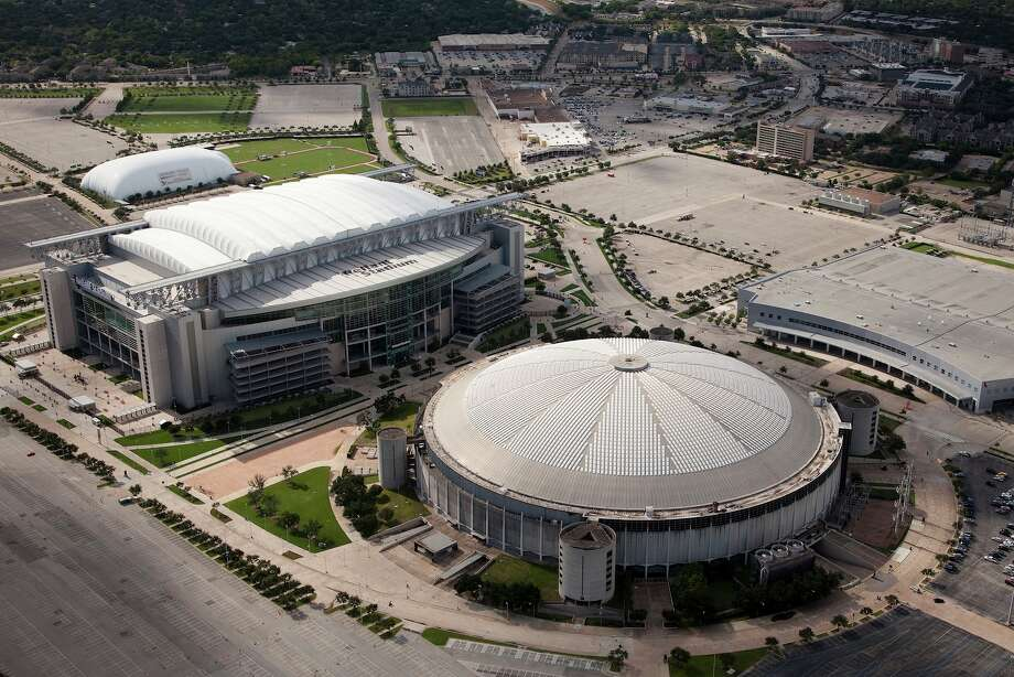 Meanwhile, we're still wondering what to do with the neighboring Astrodome, which Reliant replaced.