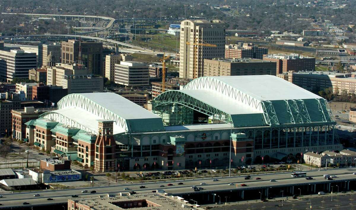Minute Maid Park, the home of the Astros, opened in 2000 as Enron Field.