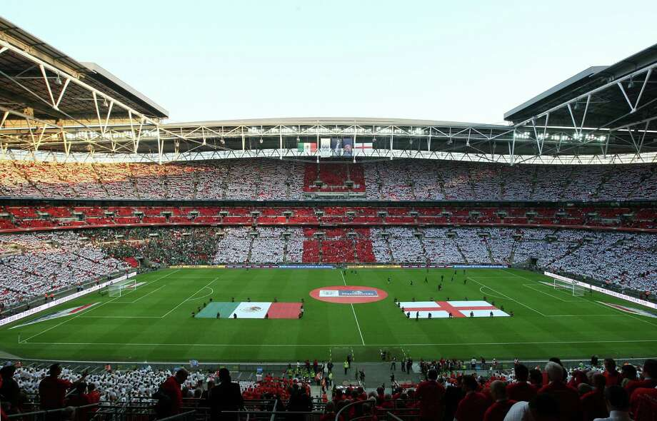 The new Wembley Stadium in London opened in 2007. It's the second-largest sports stadium in Europe. Photo: Handout, Getty Images / Getty Images Europe