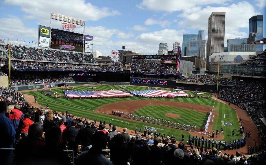 Target Field opened in 2010 as the new home of baseball's Minnesota Twins. It replaced the indoor Metrodome, which is still used for Vikings football games. Photo: Hannah Foslien, Getty Images / 2012 Getty Images