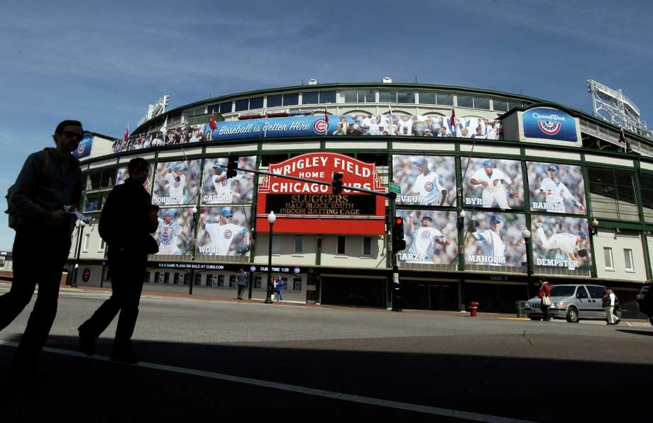 Aging Wrigley Field in Chicago got a facelift by Populous. Photo: Nam Y. Huh, Associated Press / AP