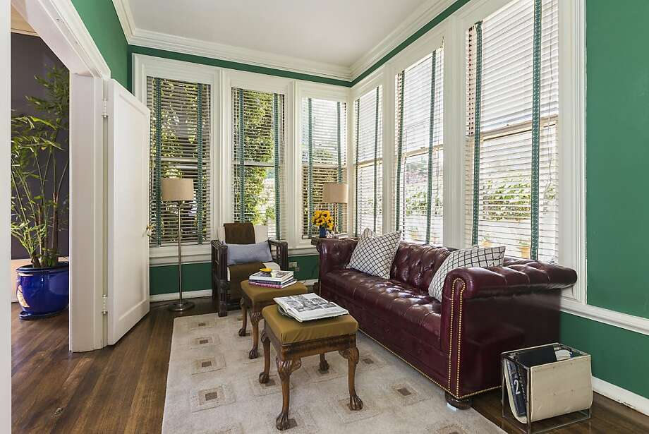 A study located off the formal dining room overlooks Francisco Street. Photo: OpenHomesPhotography.com