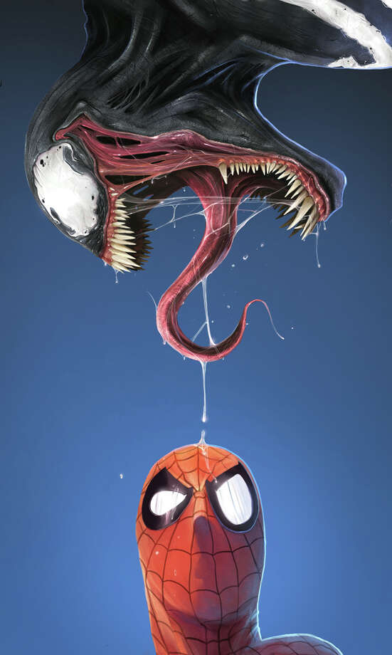 Symbiotic alien Venom deserves his own  Spider-Man  spinoff. Photo: Marvel