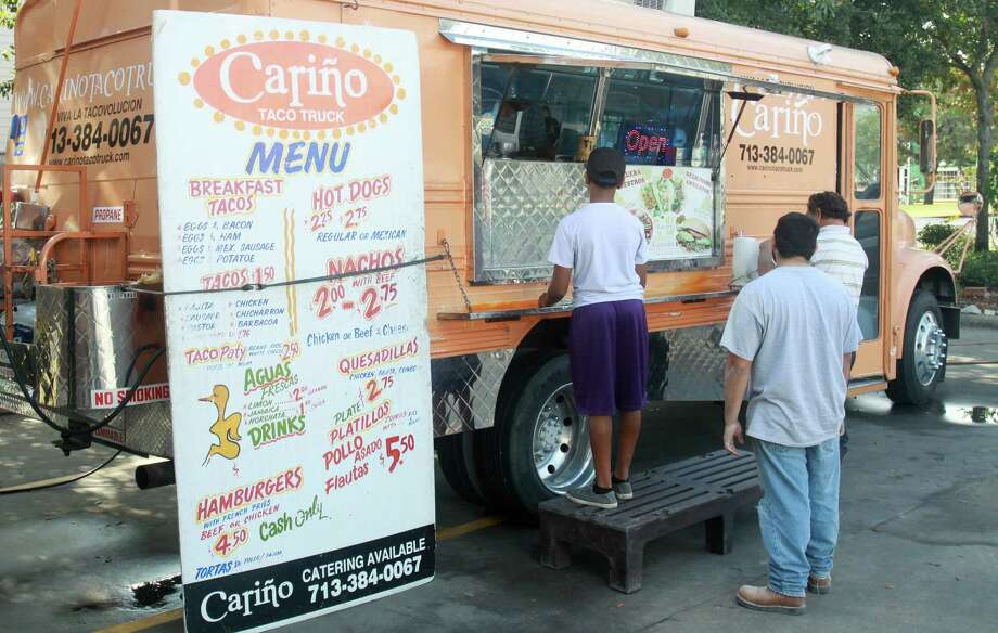 Make a quick stop at one of the city's best food trucks to grab a taco or even a hot dog with a flavorful twist. Click here to see 5 Houston food trucks for Cinco de Mayo.  Photo: Gary Fountain, Freelance / Copyright 2012 Gary Fountain.
