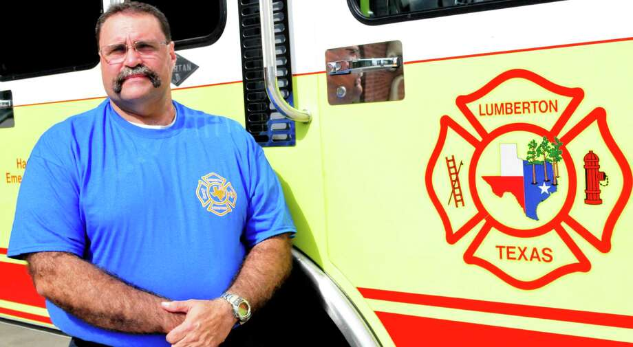 Robert Simonson, 53, starts as the new Lumberton Fire Chief on May 13. Photo: Cassie Smith