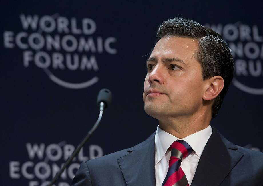 Will it be back to the future with Enrique Peña Nieto? Photo: Cris Bouroncle, AFP/Getty Images