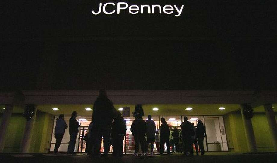 JCPenney at Meyerland Plaza during an early bird sale.