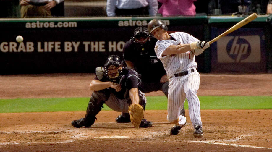 On June 28, 2007, Craig Biggio joined the elite group of MLB players with 3,000 hits. Photo: Brett Coomer, © 2007 Houston Chronicle / © 2007 Houston Chronicle