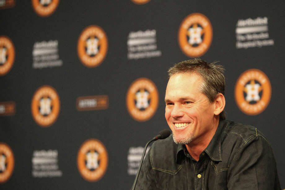 Biggio was put on the MLB Hall of Fame Ballot for the first time on Nov. 26, 2012. Photo: Nick De La Torre, © 2012  Houston Chronicle / © 2012  Houston Chronicle