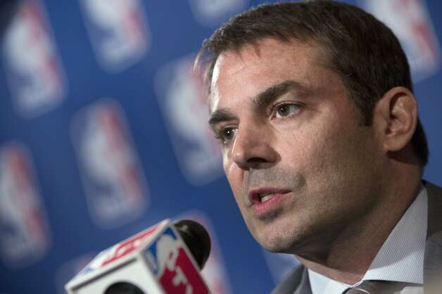 May 10, 2013: Chris Hansen raises his offer for the Kings again, this time to an overall franchise valuation of $625 million -- $100 million more than the original bid. With the new offer, the Seattle group's acquisition price would be about $406 million for the Maloofs' 65-percent stake in the Kings.  Photo: Richard Drew, Associated Press