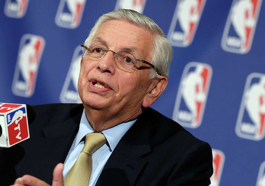 April 19, 2013: The NBA Board of Governors concludes its two-day meeting in New York City, delaying its vote on the Kings situation. That weekend, league Commissioner David Stern says the board will not likely vote until May 13. Meanwhile, another committee meeting is scheduled for April 29 to make a recommendation to the full board regarding the sale and relocation.  Photo: Richard Drew, Associated Press / AP