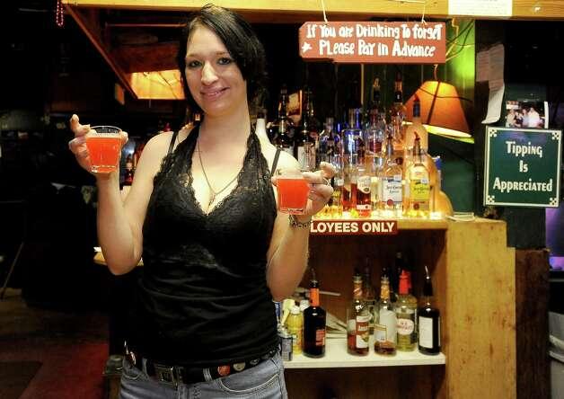 Caressa Garza of Ditto's is the Cat5 Bartender of the Week. Tammy McKinley/The Enterprise Photo: TAMMY MCKINLEY
