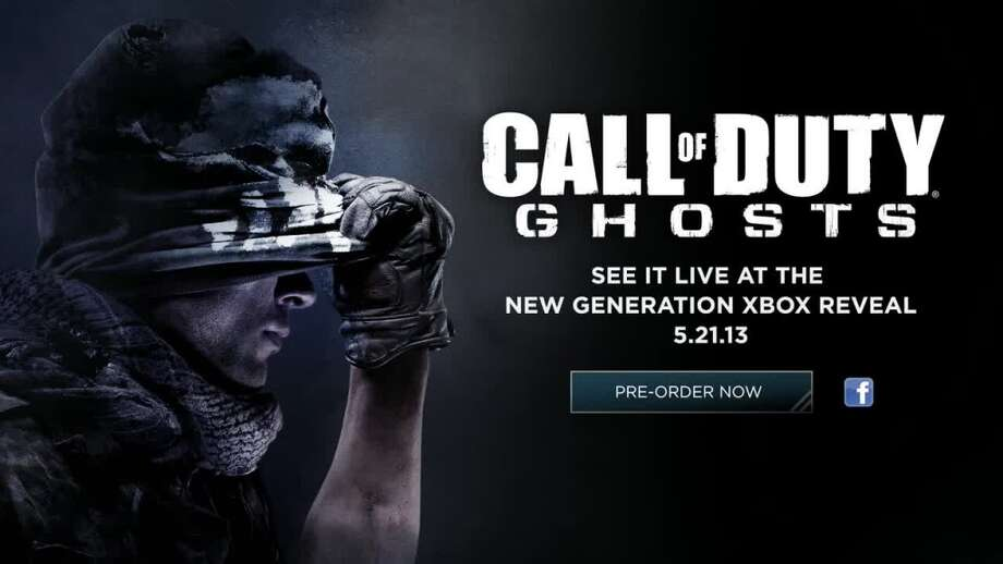 "Screenshot of new ""Call of Duty Ghosts"" teaser trailer. Photo courtesy of Activision."