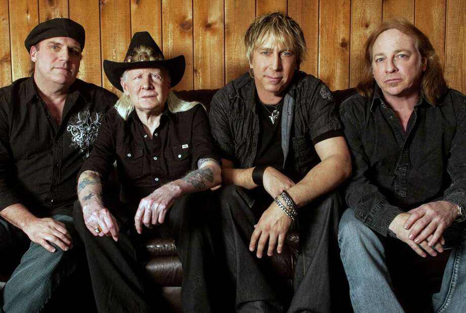 "Johnny Winter and his band will perform at The Ridgefield Playhouse on Thursday, May 9. The legendary guitar hero is listed among Rolling Stone magazine's ""100 Greatest Guitarists of All Time.""  The band will play its classic hits such as ìRock and Roll, Hoochie Koo,î ìJumpiní Jack Flashî and ìJohnny B. Goode,î as well as covers from its latest album. Photo: Contributed Photo"